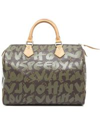 Louis Vuitton Preowned Stephen Sprouse Graffiti Speedy 30 Handbag - Lyst