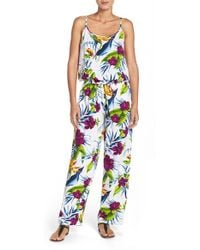 Tommy Bahama - 'happy Hibiscus' Romper - Lyst