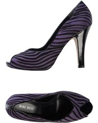 Nine West Court purple - Lyst
