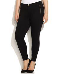 Calvin Klein Plus Size Ponte-knit Skinny Pants - Lyst