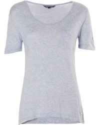 Tommy Hilfiger Lidia Scoop Neck Top - Lyst