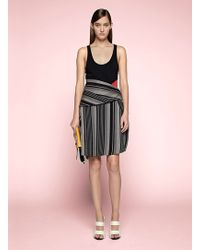 Proenza Schouler Asymmetrical Tank Dress - Lyst