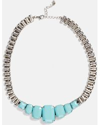 Asos Faceted Bead Collar Necklace - Lyst