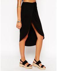 Asos Split Front Beach Skirt Co-Ords - Lyst