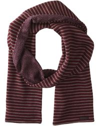 Ted Baker Knit and Woven Scarf - Lyst