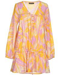 Antik Batik Short Dress floral - Lyst