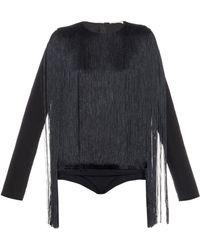 Nina Ricci | Fringed Bodysuit | Lyst