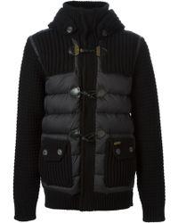 Bark Padded Knitted Duffle Coat - Lyst