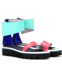 Roksanda Leather Sandals - Lyst