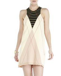 Sonia Rykiel Cream Printed Knit Dress - Lyst