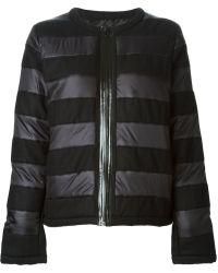 Sonia By Sonia Rykiel Striped Padded Jacket - Lyst