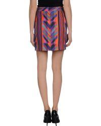 Lala Berlin Mini Skirt - Lyst