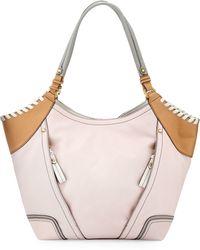 orYANY | Tegan Leather Shopper Tote Bag | Lyst