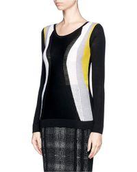 Diane von Furstenberg Striped Sweater - Lyst