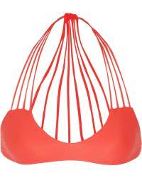 Mikoh Banyans String Bikini Top - Lyst