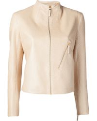 The Row Washed Python Piker Jacket - Lyst