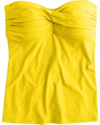 J.Crew Twist-Front Swing Tankini Top - Lyst