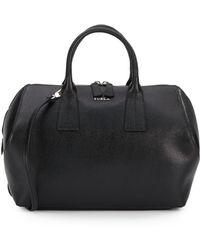 Furla Saffiano Leather Satchel - Lyst