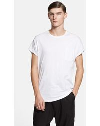 Chapter - 'yury' Single Panel Pocket T-shirt - Lyst