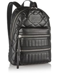 Marc By Marc Jacobs Domo Arigato Biker Quilted Leather Backpack - Lyst
