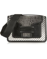 Pierre Hardy Printed Calf Hair Shoulder Bag - Lyst