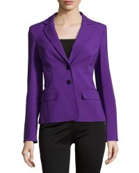 ESCADA Double-Button Front Blazer - Lyst