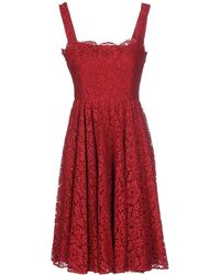 Dolce & Gabbana | Short Dress | Lyst