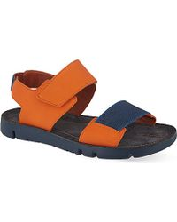 Camper Oruga Velcro Strap Sandals - For Men - Lyst