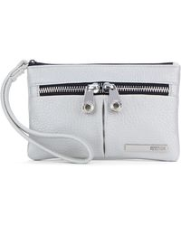 Kenneth Cole Reaction | Wooster Street Leather Wristlet | Lyst