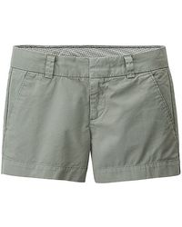 Uniqlo Women Chino Micro Shorts - Lyst