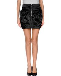 Miss Sixty Mini Skirt - Lyst