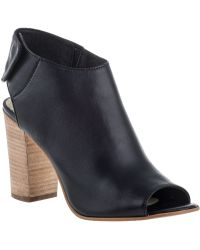 Steve Madden Nonstp Bootie Black Leather black - Lyst