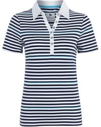 Dash Stripe Rugby Top - Lyst