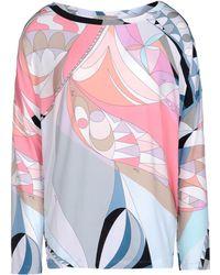 Emilio Pucci Long Sleeve T-Shirt - Lyst