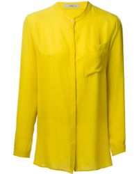 Etro Mandarin Collar Shirt - Lyst