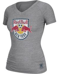 Adidas Womens New York Red Bulls Supersize Tshirt - Lyst