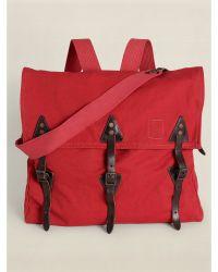 Ralph Lauren Canvas Falcon Backpack - Lyst