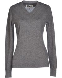 Mm6 By Maison Martin Margiela Sweater - Lyst