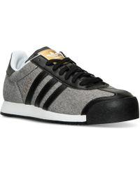 32c2fbdb8514c8 adidas Originals - Women s Samoa Casual Sneakers From Finish Line - Lyst