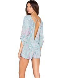 Beach Bunny - Just Beachy Romper - Lyst