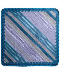 Missoni Silk Wave-Print Scarf - Lyst