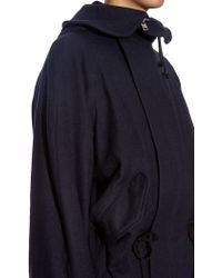 Y's Yohji Yamamoto - Dolman-Sleeves Wool Coat - Lyst