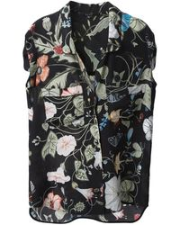 Gucci 'Flora Knight' Blouse - Lyst