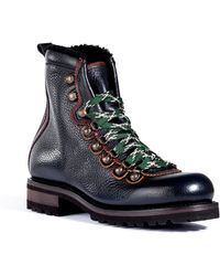 DSquared2 Leather Mountain Boots - Lyst