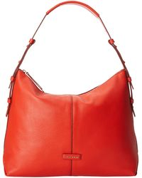 Cole Haan Emma Hobo red - Lyst