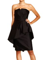 Alberta Ferretti Dress - Lyst