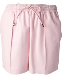 Givenchy Pleated Shorts - Lyst
