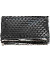 Stella McCartney Foldover Clutch With Chain Detail - Lyst