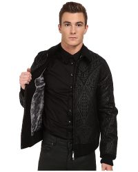 Just Cavalli Patterned Sports Jacket - Lyst