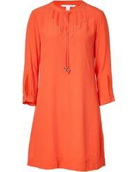 Diane Von Furstenberg Stardust Orange Kea Dress - Lyst
